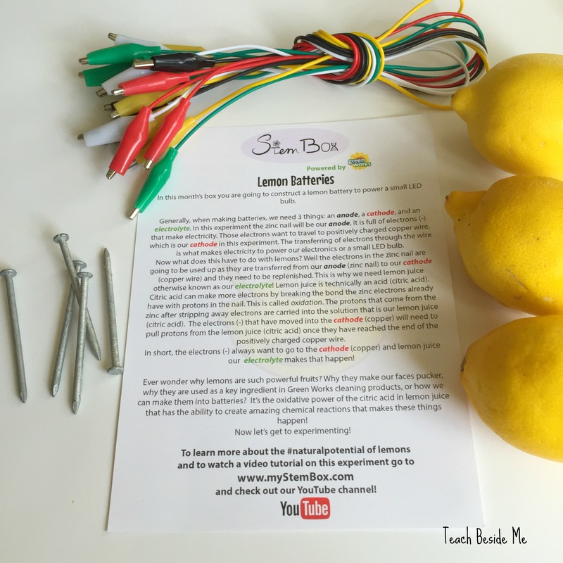 stem box- lemon battery