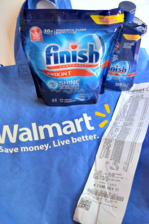 TIred of pulling dirty dishes out of the dishwasher after it runs? Here is the best dish detergent and the best app to earn money while you shop!