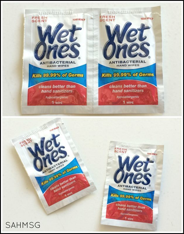 Wet Ones singles are so convenient they are my new favorite lunch box hack for easy clean up. Grab your coupon to use at Target!