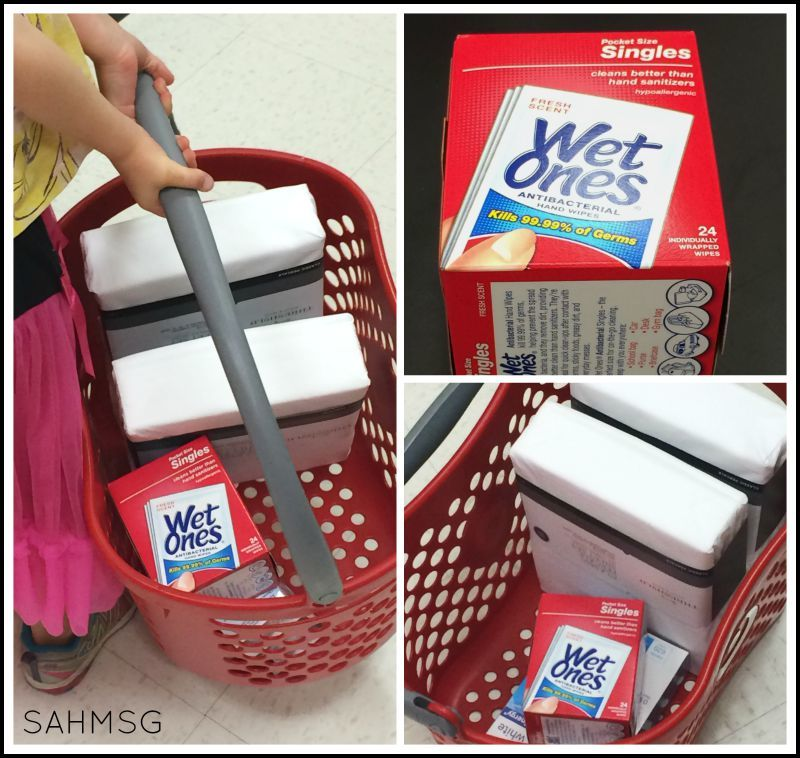 Target coupons for Wet Ones singles make the already cheap wipes even less expensive.