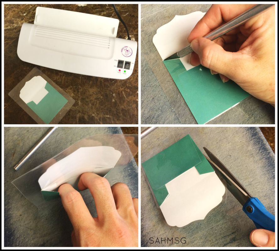 Create a DIY lunch box notes holder to send lunch box notes to your child every day!