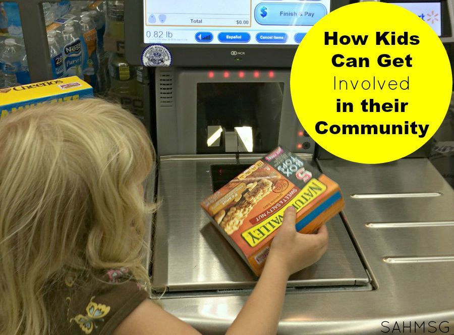 How kids can give back to their community through participating in the Box Tops for Education program.
