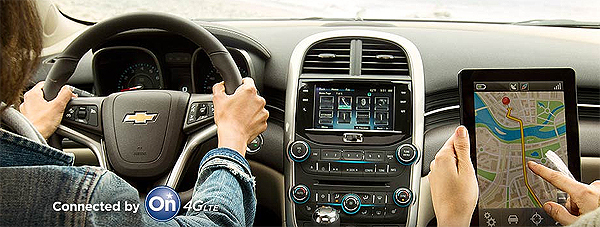 Chevrolet Vehicles are First with 4G LTE Wi-Fi Built In!