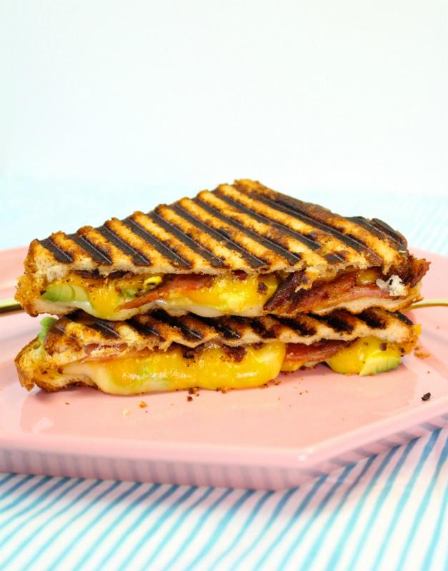 Easy Bacon, Avocado, & Cheese Panini Recipe