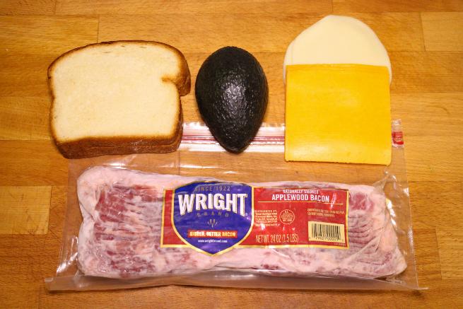 Easy Bacon, Avocado, & Cheese Panini Recipe-Ingredients