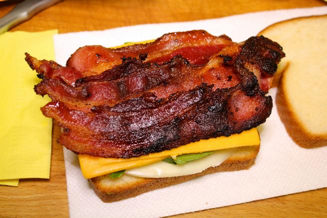 Easy Bacon, Avocado, & Cheese Panini Recipe-Step-4