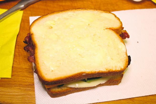 Easy Bacon, Avocado, & Cheese Panini Recipe-Step-5