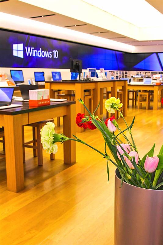 Microsoft Store Interior