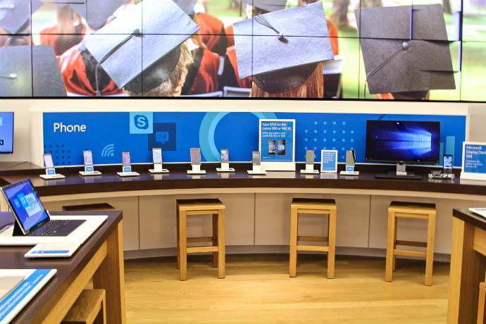 Microsoft Store Interior 2