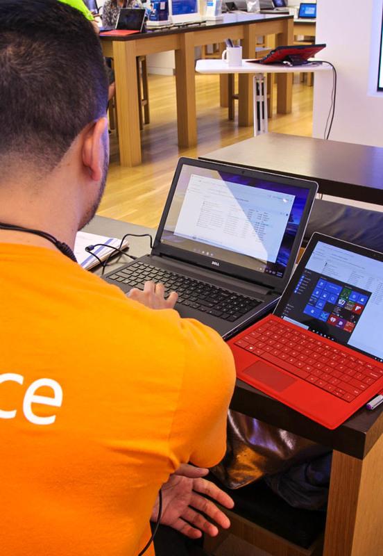 Microsoft Laptop Class 11
