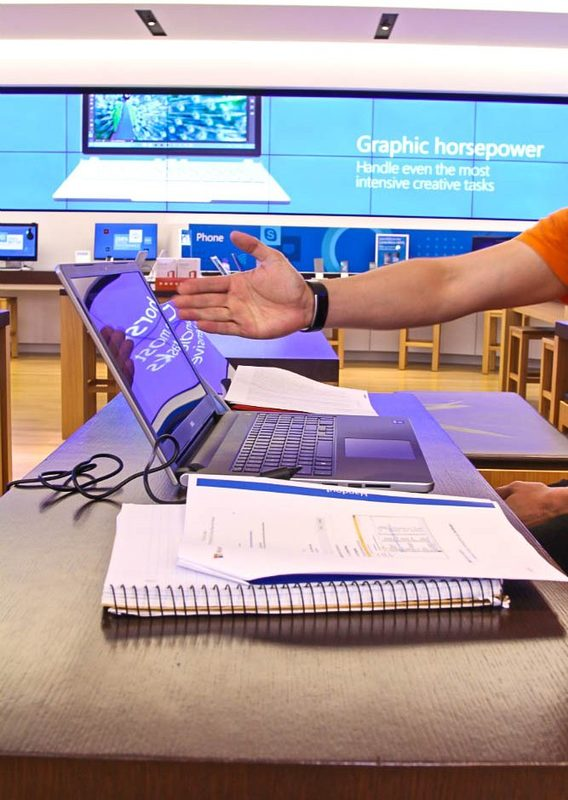 Microsoft Laptop Class 1