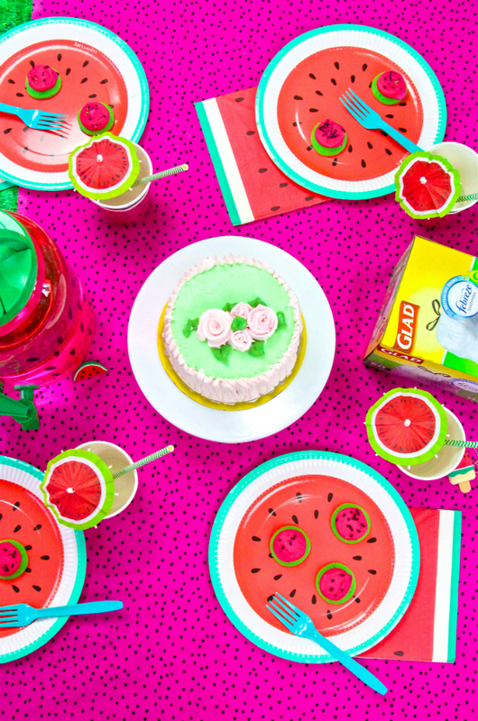 Watermelon Glad Party scape