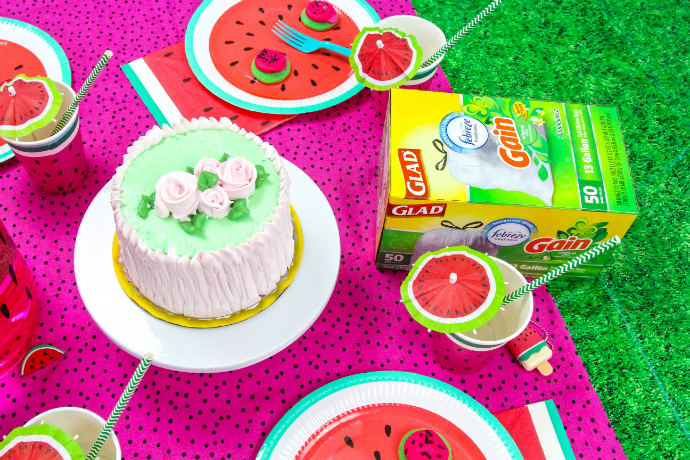 Watermelon Glad Party Cake