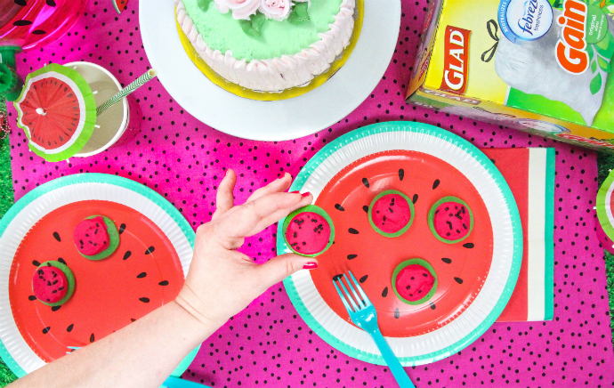 Watermelon Glad Party Treats