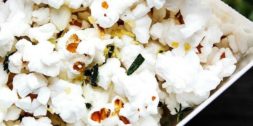 Garlic & Herb Popcorn TWITTER