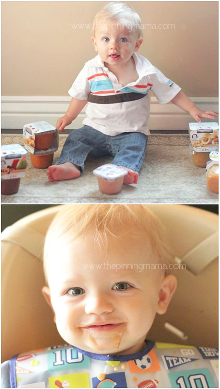 How to move from puree to table food with baby. Tips and reference list with a TON of ideas!