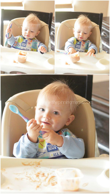 Great tips on transitioning baby to table food plus reference on all the vegetables to use for finger foods!