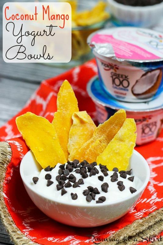 Coconut Mango Yogurt Bowls