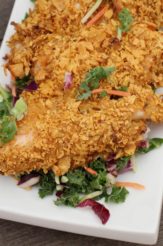 Skinny Fried Chicken
