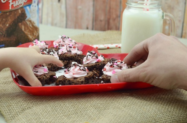 Valentine's Day Brownies #MixUpAMoment #ad