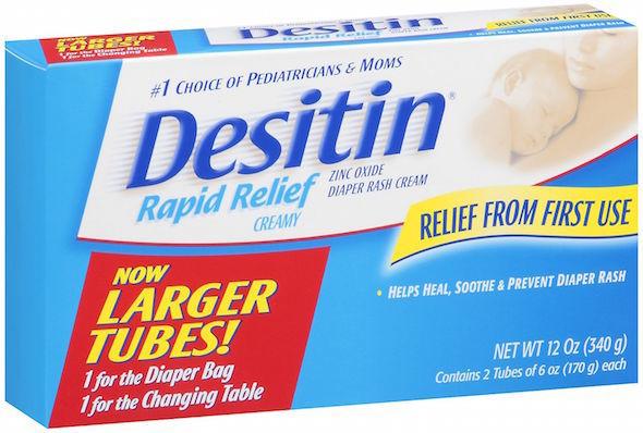 diaper cream for new mom survival kit list