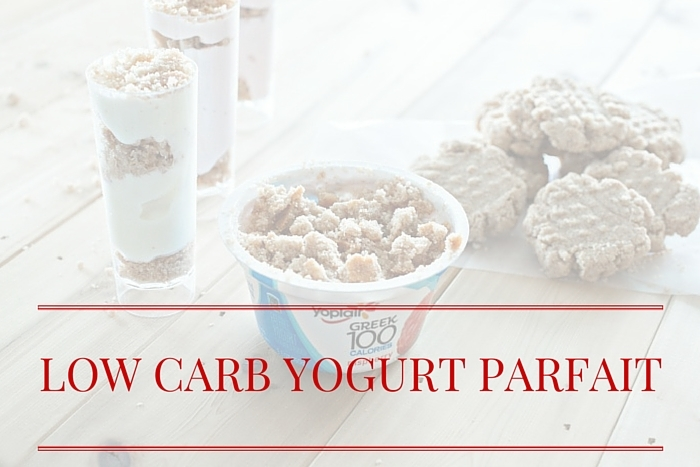 Low Carb Mini Yogurt Parfaits