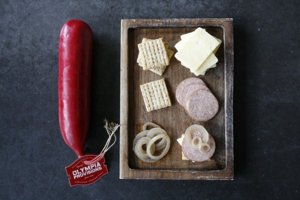 Olympic Provisions, Portland Oregon | Triscuit Cracker Snack Recipes | See more creative ideas on TodaysCreativeLife.com