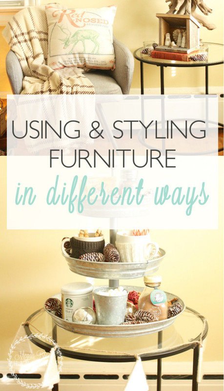 Using Furniture in Different Ways