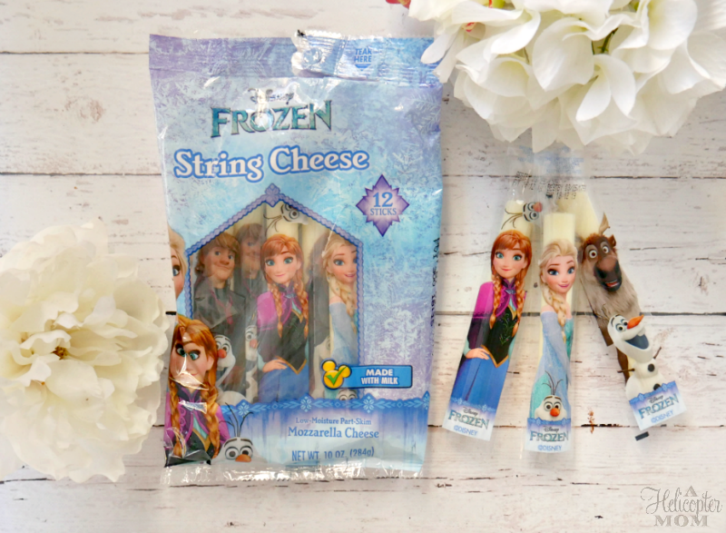 Snacks for Kids - Disney Frozen String Cheese