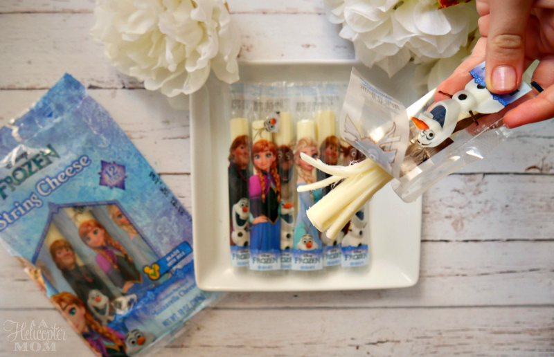 Frozen String Cheese Snacks for Kids