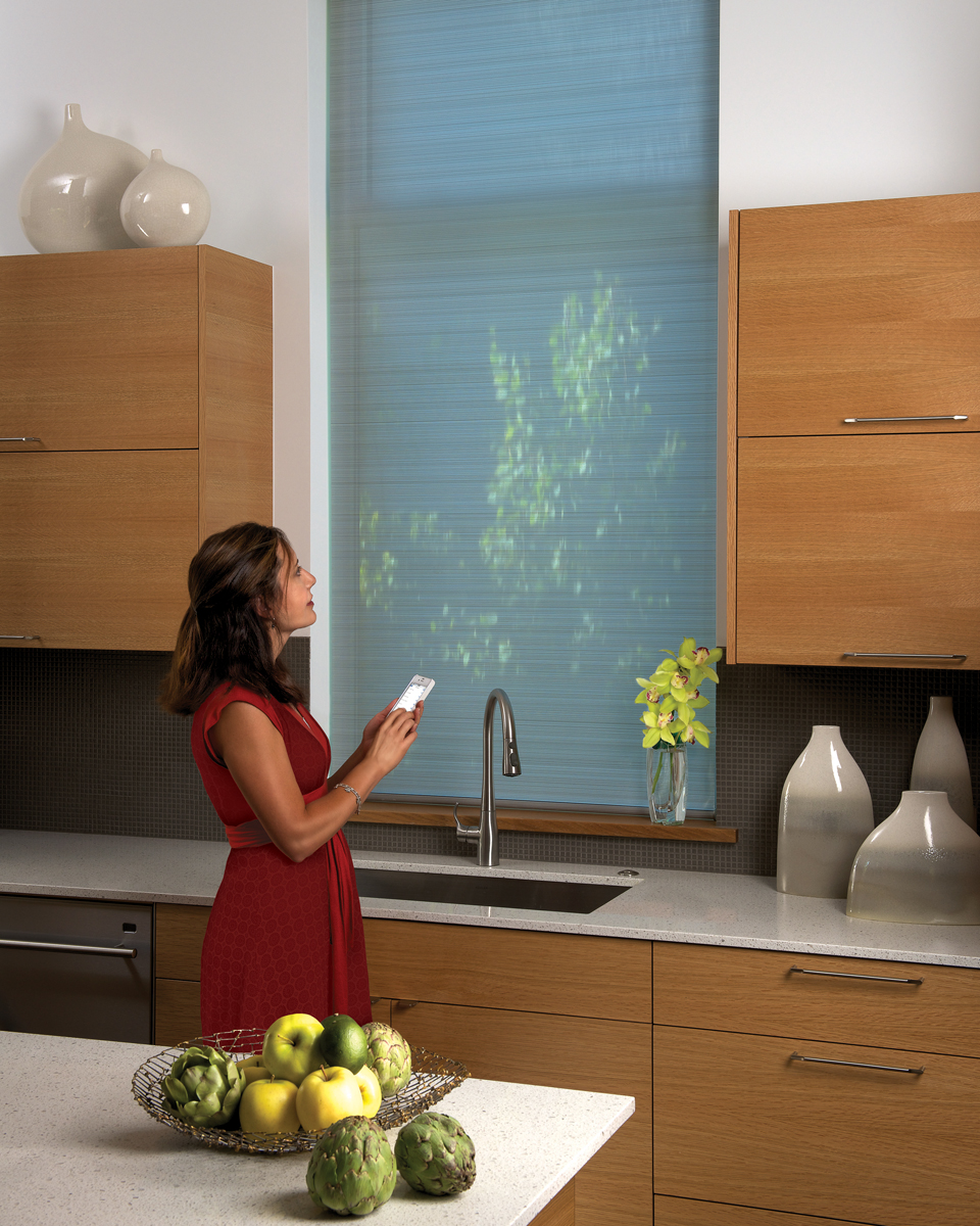 Home Automation with Motorized Window Treatments #decorview