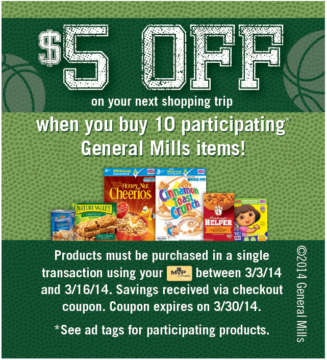 Food Lion Food Promo with General Mills