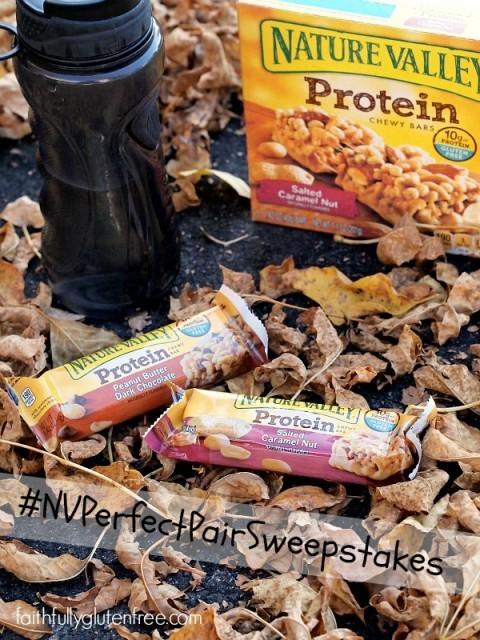 Nature Valley's Gluten Free Snack Bars #NVPerfectPairSweepsteaks