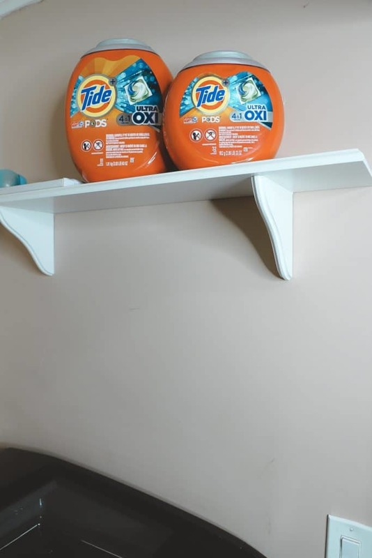 Tide Pods Laundry Room