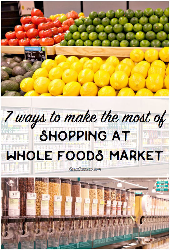 How to make the most of shopping at Whole Foods Market for your family. 7 big things that set them apart and that you need to know before your next shopping trip to pick up groceries.