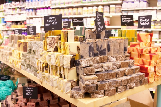 buy handmade soap to make a difference