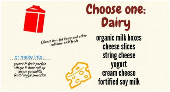 Choose one: dairy
