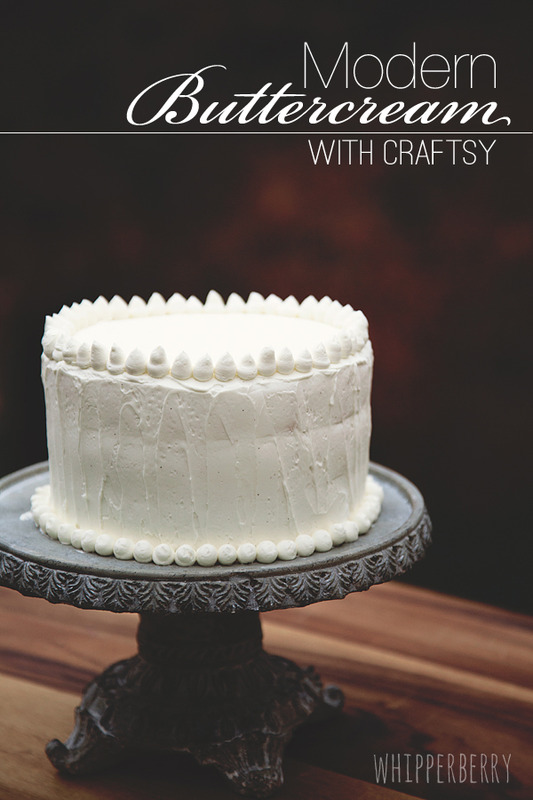 Modern Buttercream With Craftsy Whipperberry