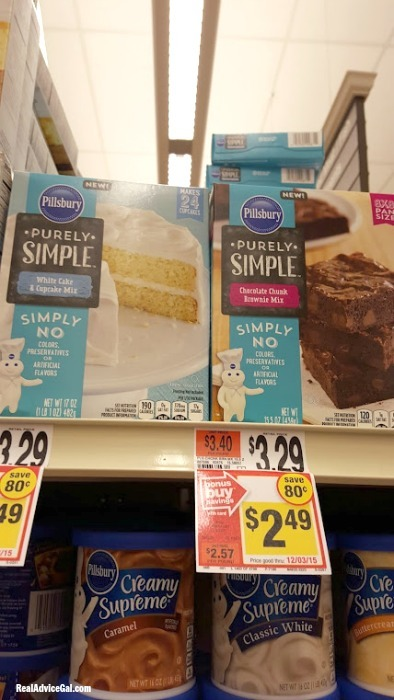 Holiday Baking Made Easy with Pillsbury™ Purely Simple™ Baking and Frosting Mixes