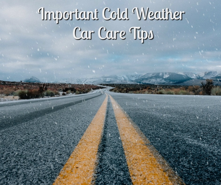 Important Cold Weather Car Care Tips + Giveaway