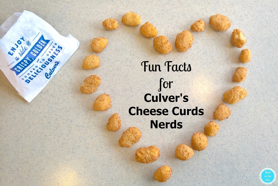 Fun Facts for Culver's Cheese Curds Nerds and a Giveaway