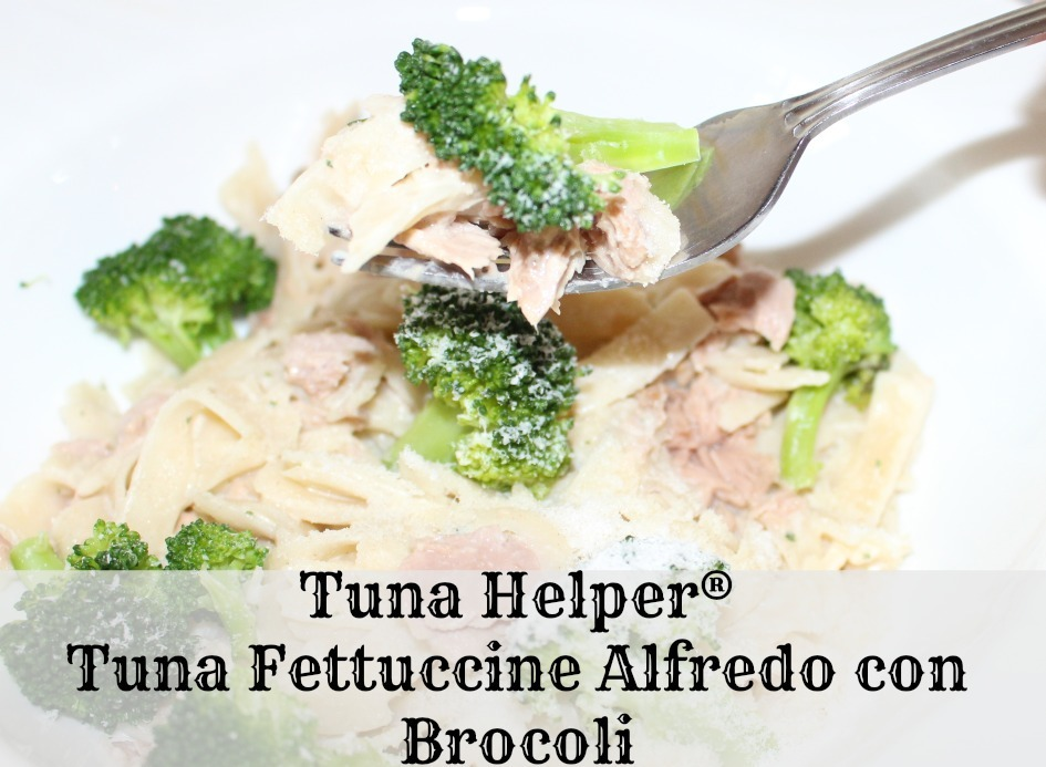 Tuna Helper® Tuna Fettuccine Alfredo con Brocoli