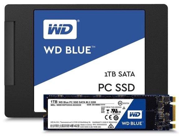 WD Blue SSD SATA M2