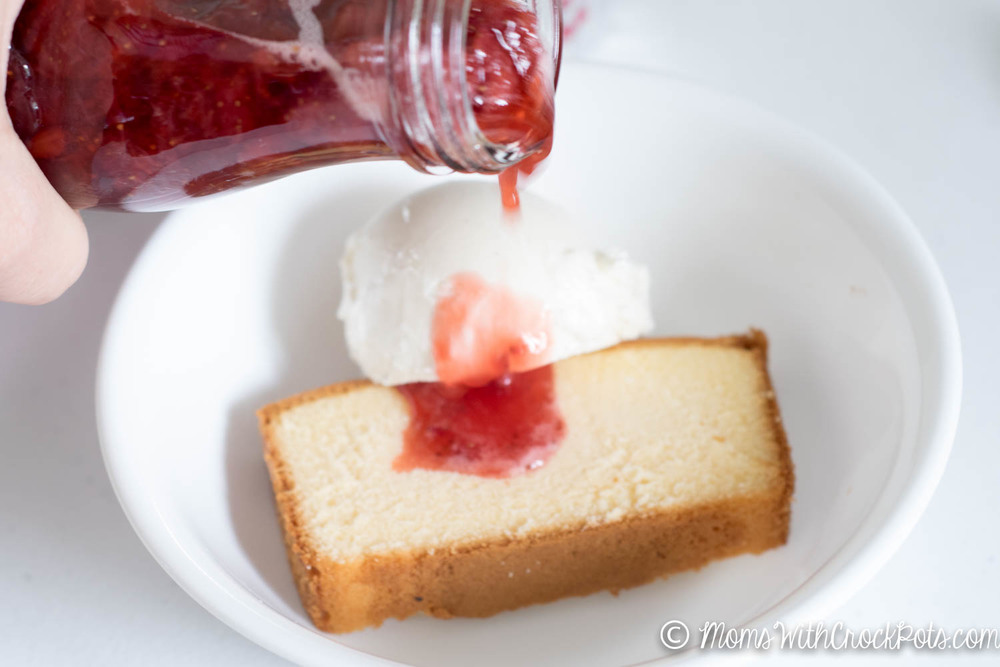 Put those summer strawberries to work and make this unbelievable Crockpot Strawberry Syrup Recipe. Plus check out this yummy dessert idea to use some of it up.