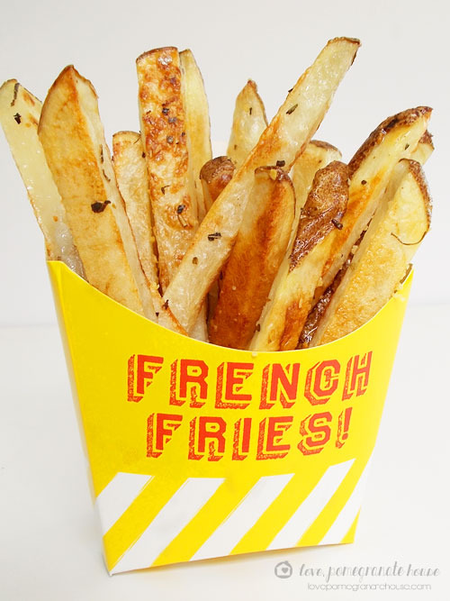 Italian Baked Fries