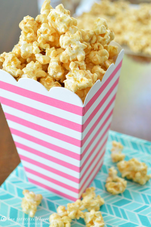 White Chocolate Biscoff Popcorn