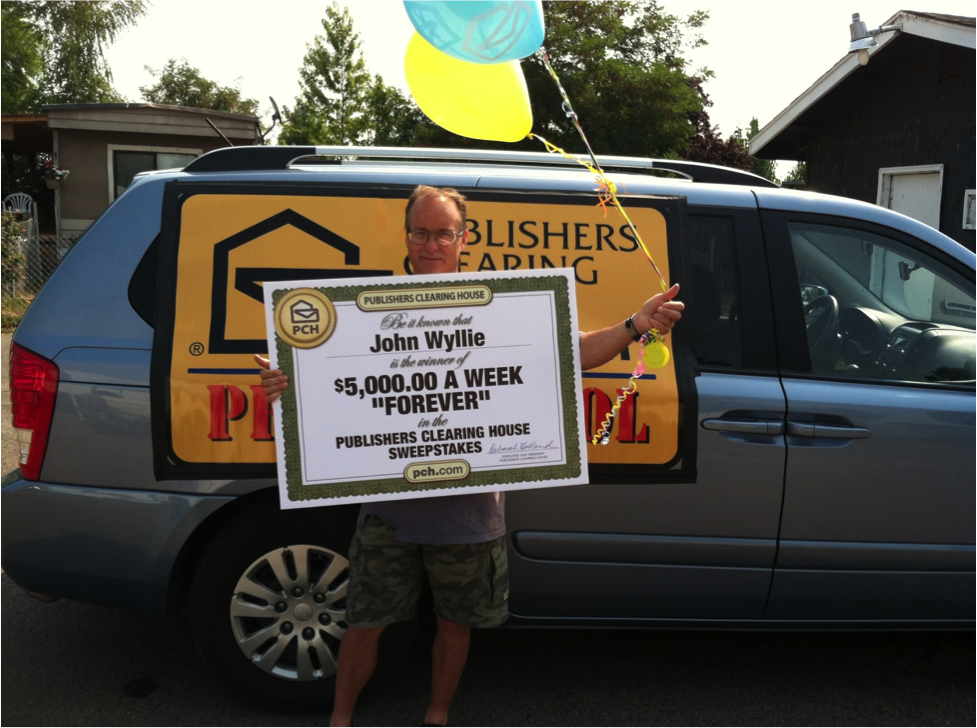 """Publishers Clearing House """"Forever Prize"""" - $5000 Per Week"""