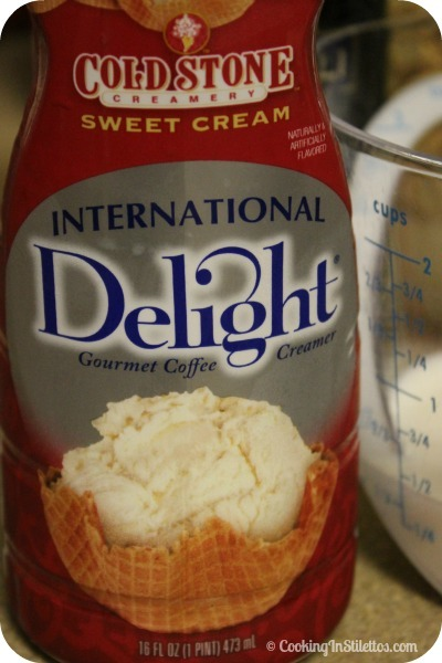 Sweet Cream Tiramisu - International Delight Sweet Cream