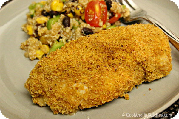 Triscuit Crusted Chicken