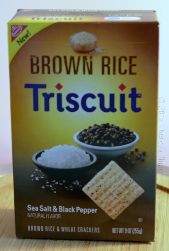 Triscuit Brown Rice Sea Salt and Black Pepper Crackers, Triscuit Crackers